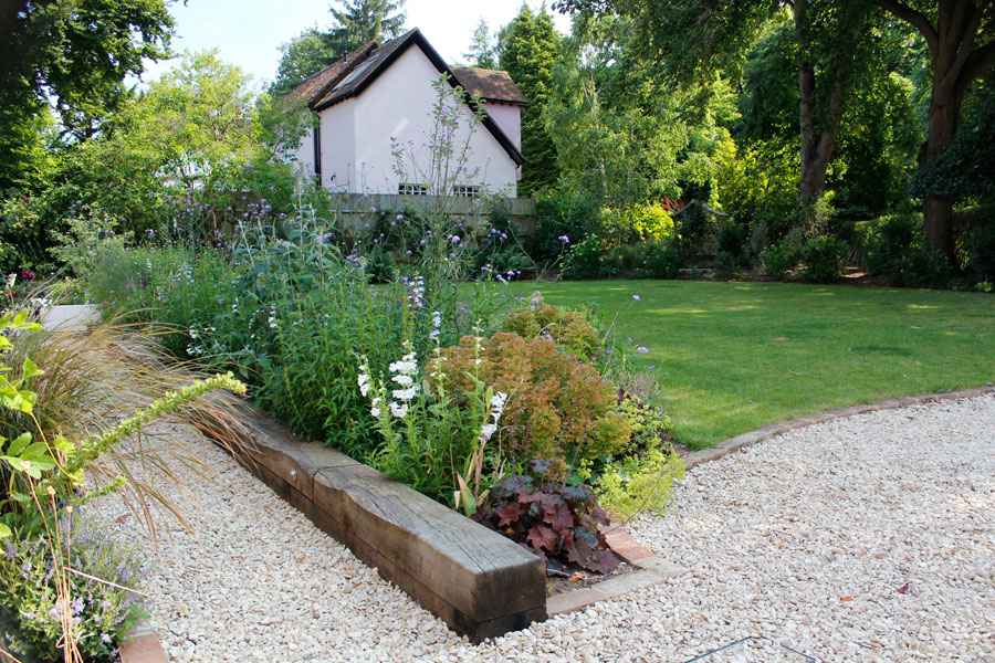 Landscaping Iffley, Oxford sleeper bed