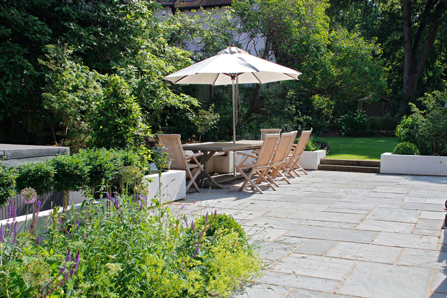 Landscaping Iffley, Oxford patio
