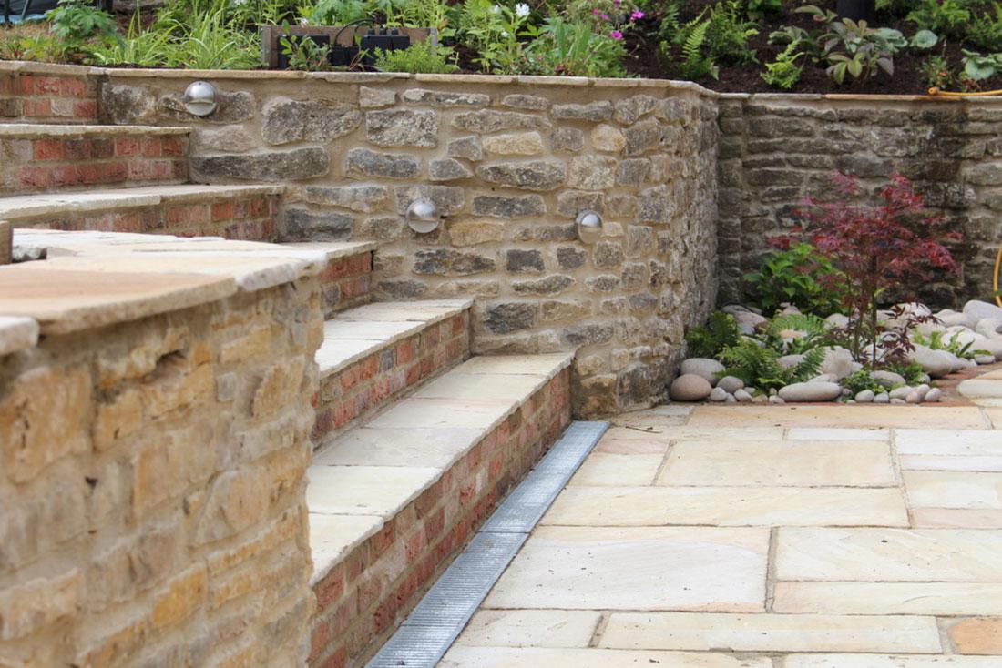 Landscaping Bicester steps