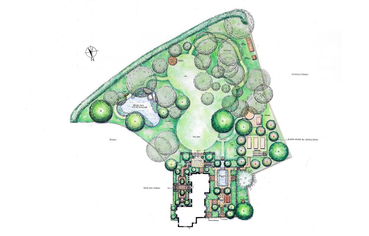 Garden Design Monmouthshire Chepstow Landscapes